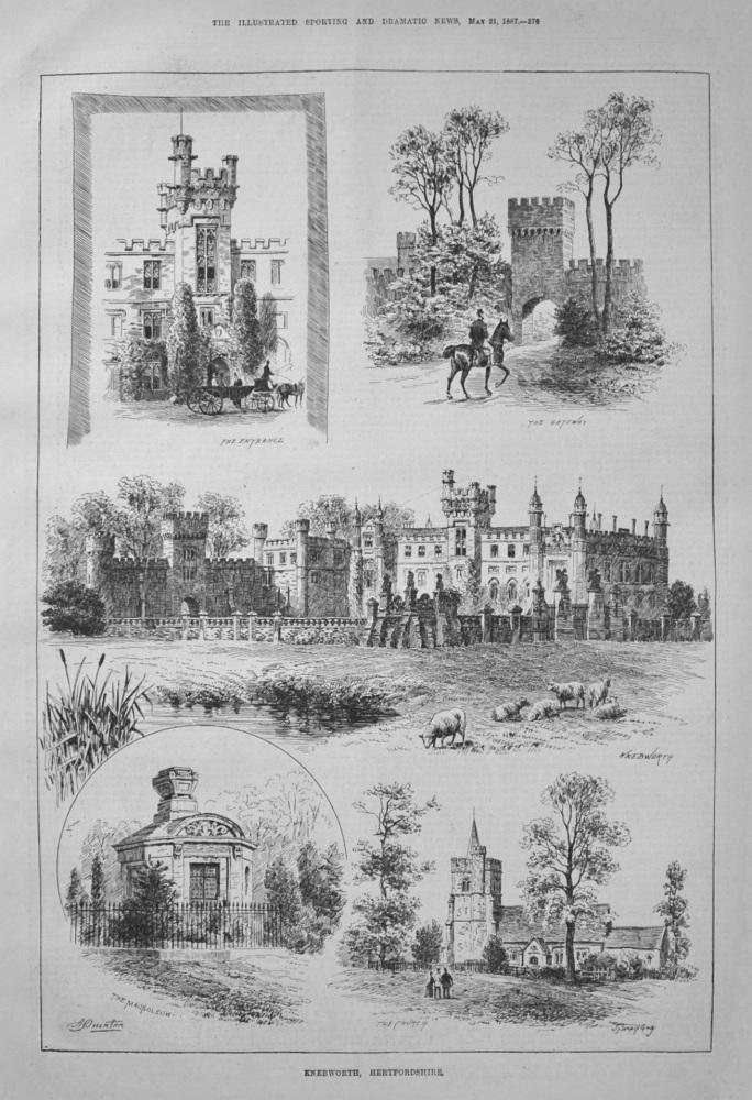 Knebworth, Hertfordshire. 1887