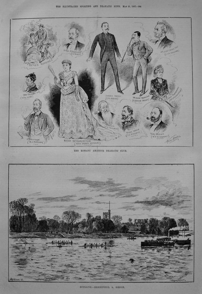 The Romany Amateur Dramatic Club. 1887.