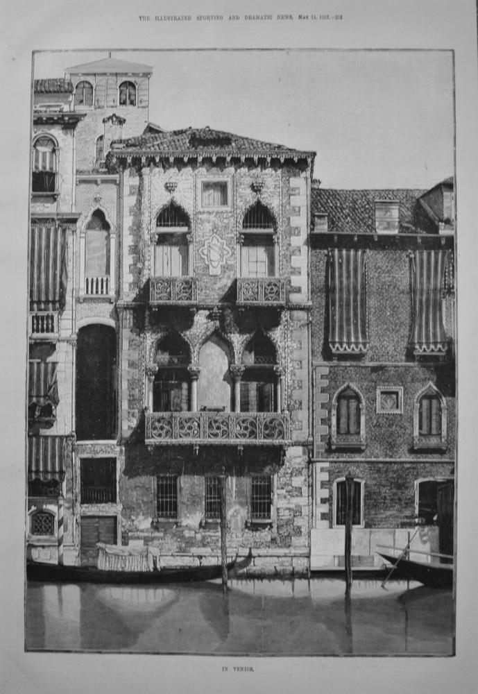 In Venice. 1887