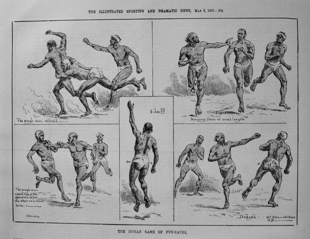 The Indian Game of Put-Kaudl. 1887