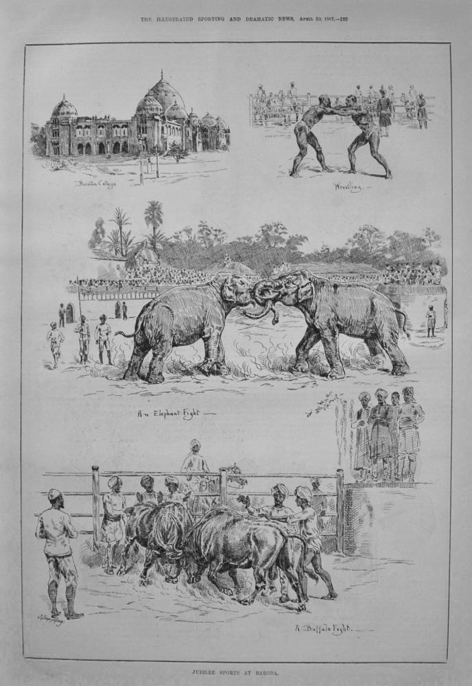 Jubilee Sports at Baroda. 1887