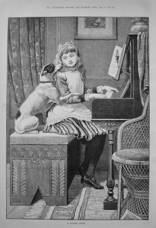 A Tender Chord. 1887