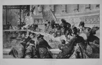 """""""Gulliver Afloat."""" 1887"""