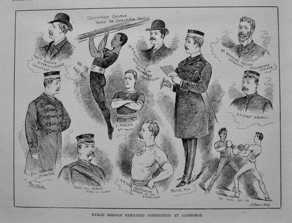 Public Schools Gymnastics Competition at Aldershot. 1887