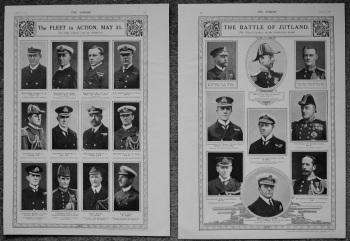 Battle of Jutland. : The Fleet in Action, May 31st. 1916.