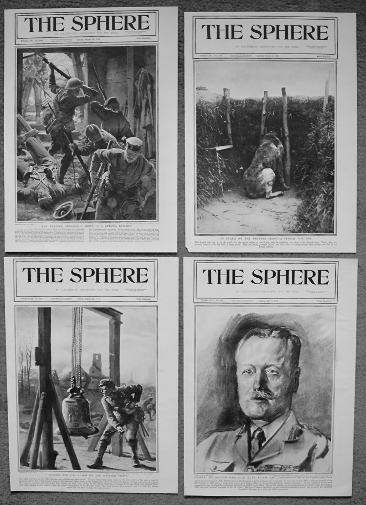 The Sphere. (Front Pages.) 1916.