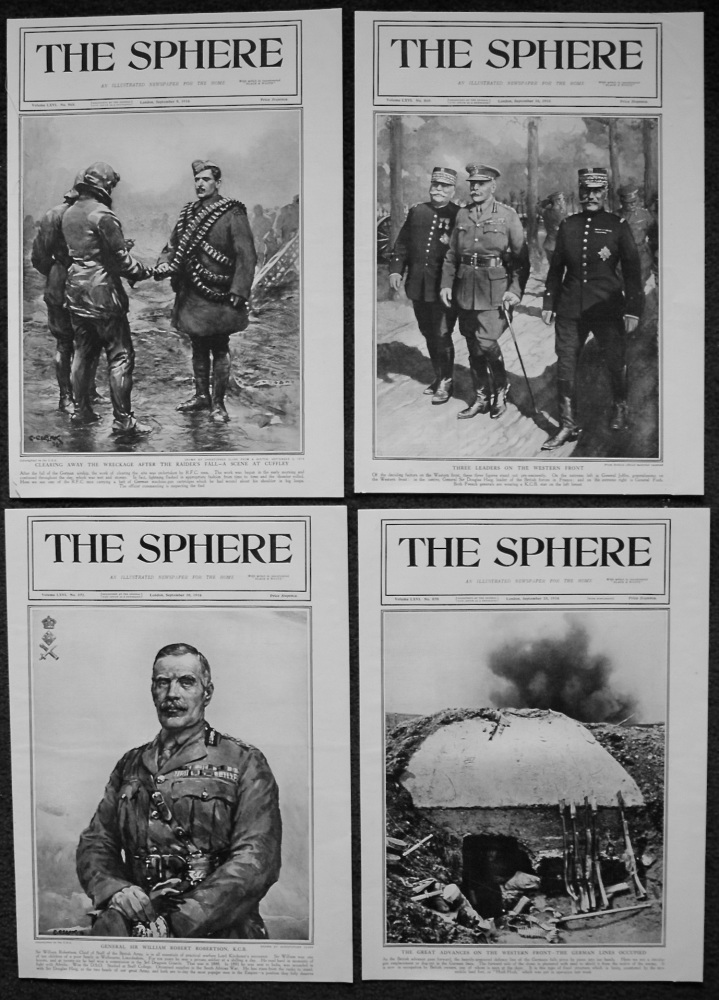 The Sphere. (Front Pages) 1916