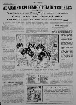 Edwards' Harlene Limited. 1916