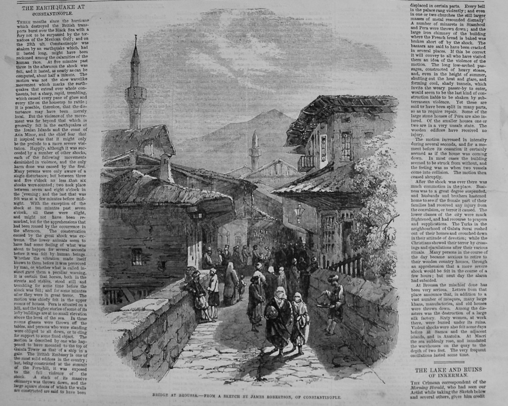 The Earthquake at Constantinople. 1855