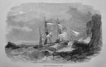 "Wreck of the Emigrant Ship ""John."" 1855"