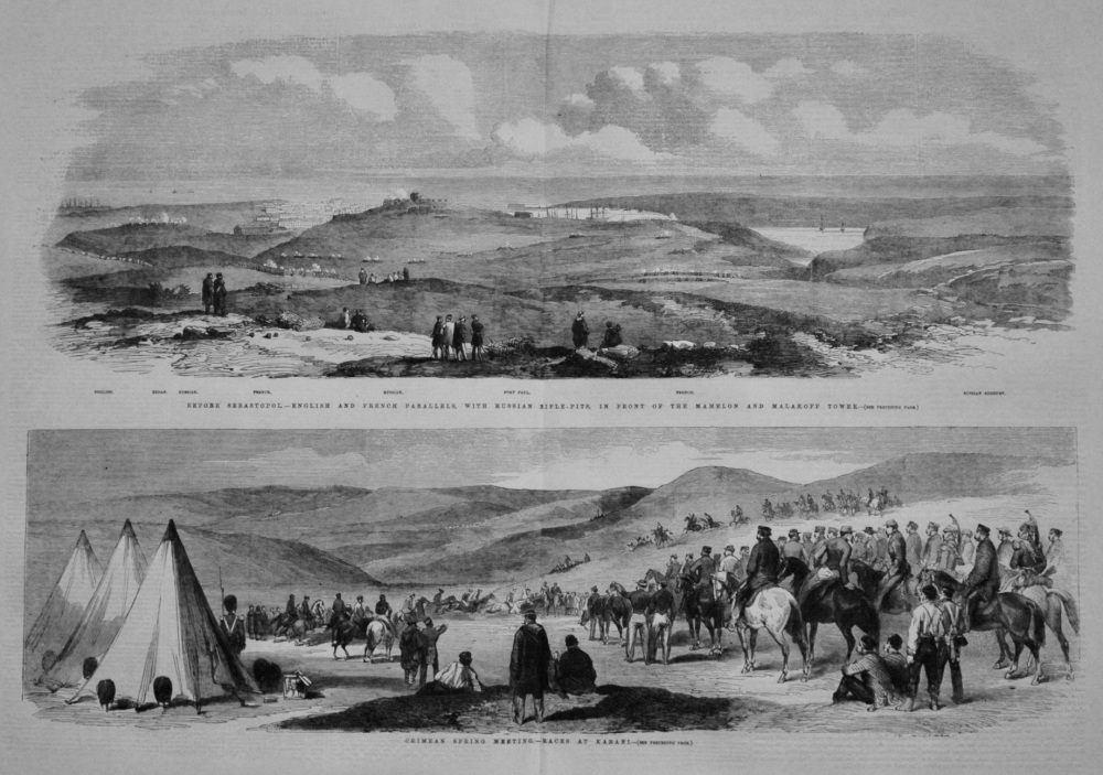 Crimean Spring Meeting.- Races at Karani. 1855