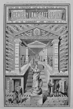 Chancery Lane Safe Deposit. 1887