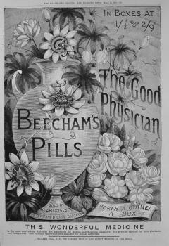 Beecham's Pill's. 1888