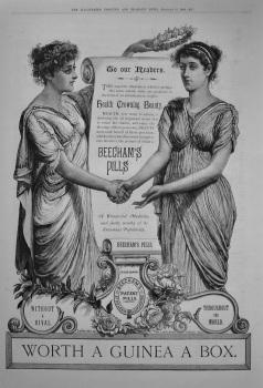 Beecham's Pills. 1888