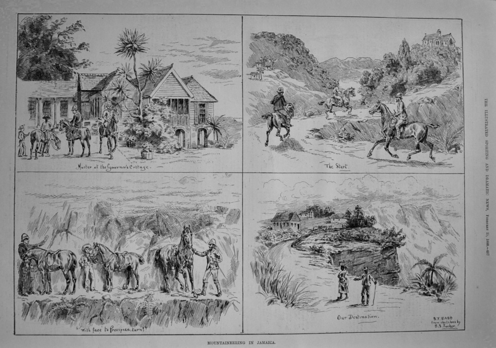Mountaineering in Jamaica. 1888