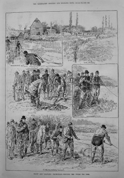 Trout and Grayling Protection.- Netting the Wylie for Pike. 1888