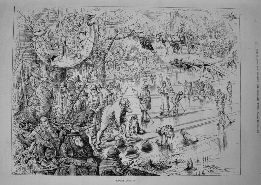Scotch Curling. 1888