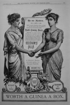 Beecham's Pill's. 1887