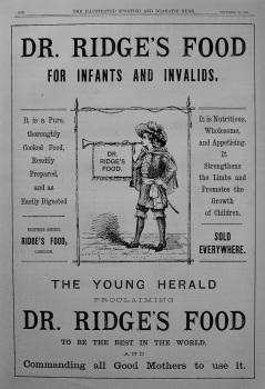 Dr. Ridge's Food. 1887