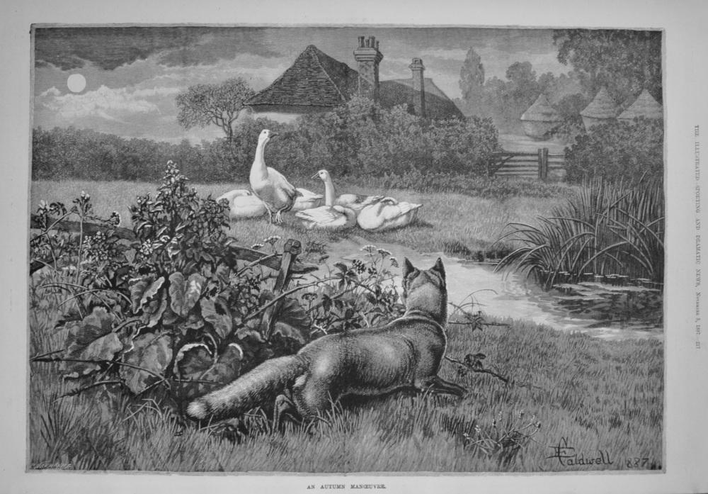 An Autumn Manoeuvre. 1887