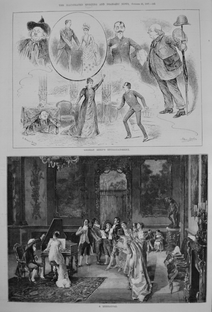 German Reed's Entertainment. 1887