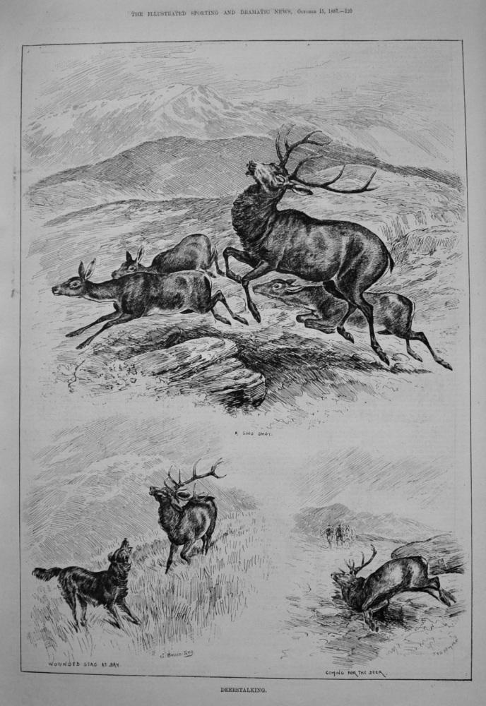 Deerstalking. 1887