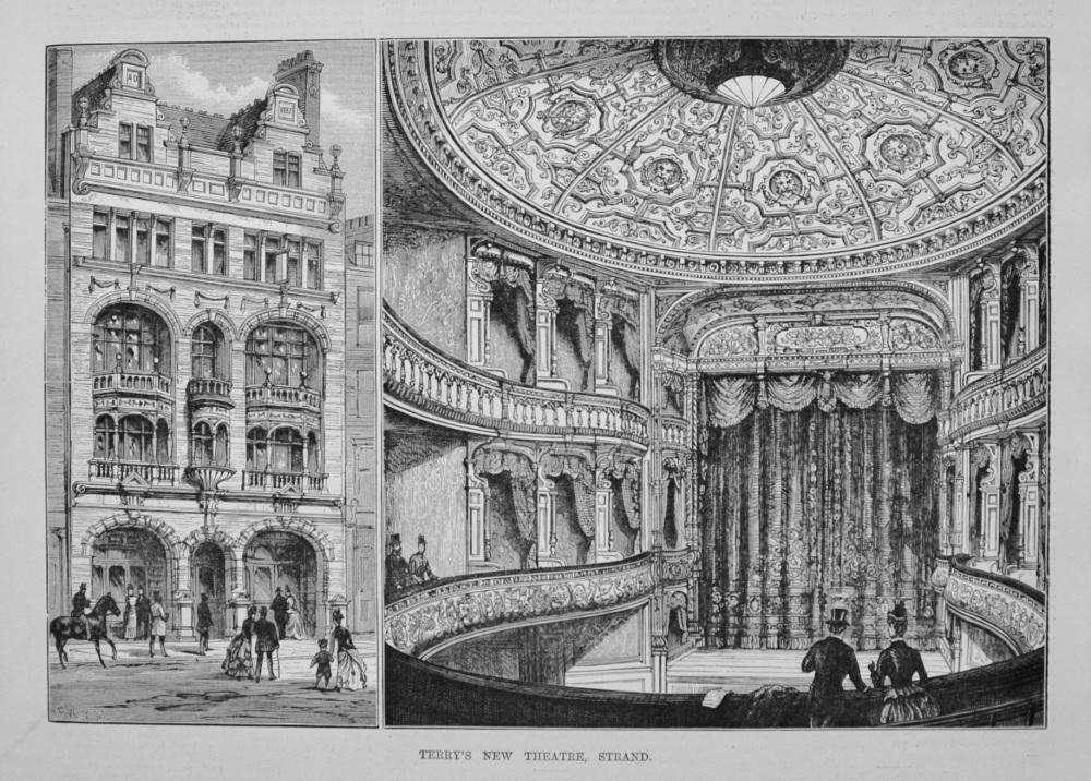 Terry's New Theatre, Strand. 1887