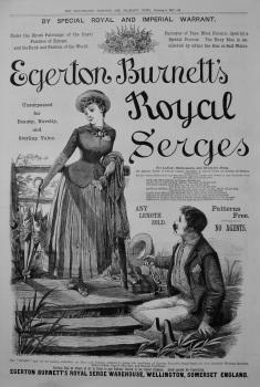 Egerton Burnett's Royal Serges. 1887