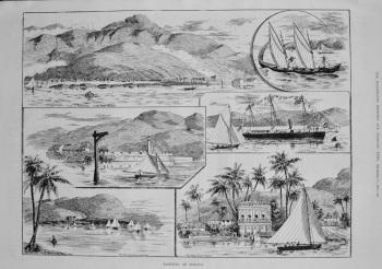 Yachting at Jamaica. 1887