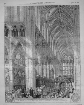 Alterations in Westminster Abbey. 1848