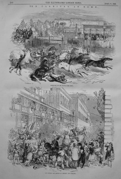 Carnival at Rome. 1848
