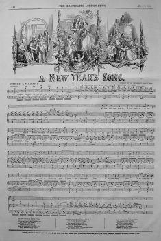 A New Year's Song. 1848