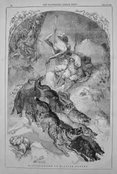 Winter.- Drawn by William Harvey. 1848