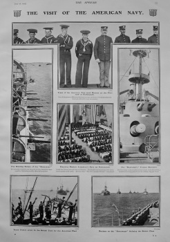 Visit of the American Navy. 1903