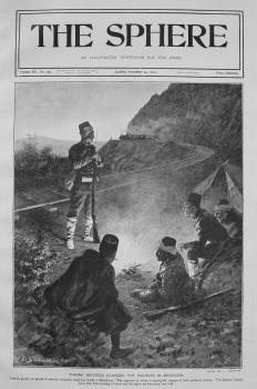 Turkish Sentinels Guarding the Railways in Macedonia. 1903