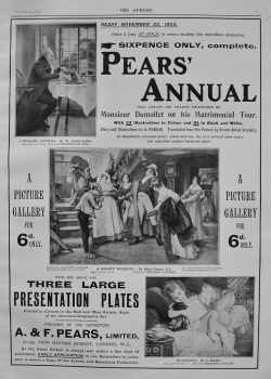 A. & F. Pears, Limited. (Pears' Annual) 1903