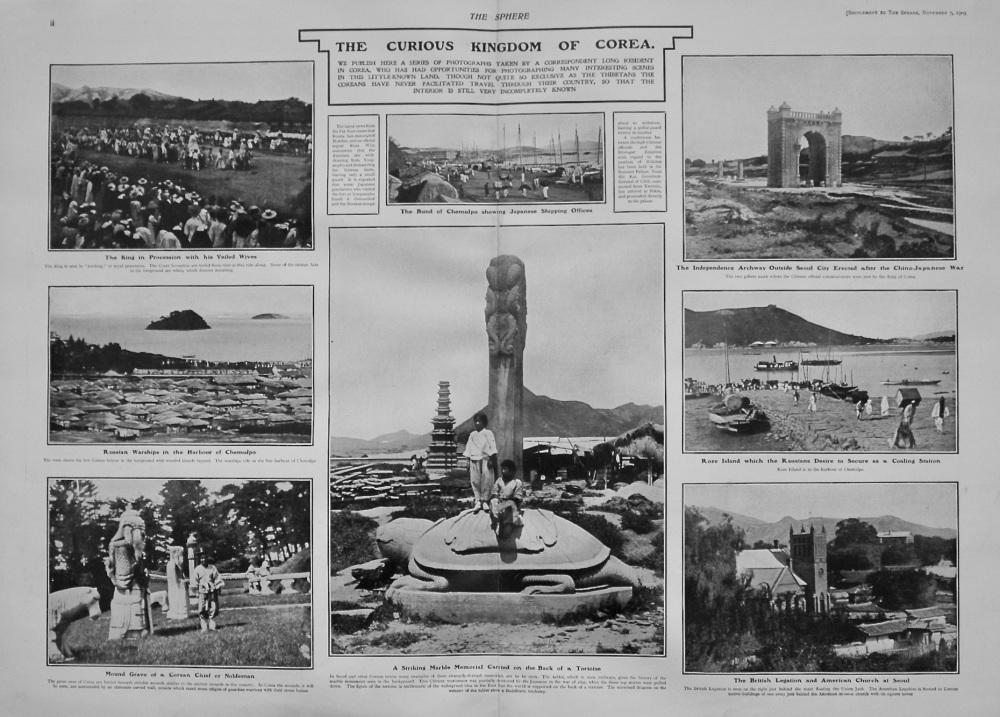 The Sphere, November 7th, 1903. (Supplement) : The Strange Kingdom of Corea.