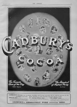 Cadbury's Cocoa. 1903