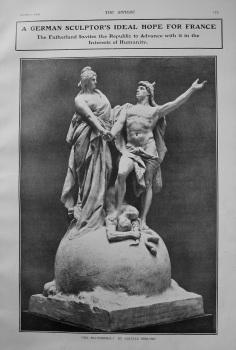 """""""Ein Kulturideal."""" by Gustave Eberlein. 1903"""