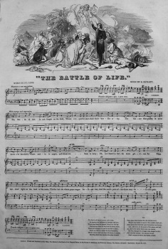 """The Battle of Life."" 1847"