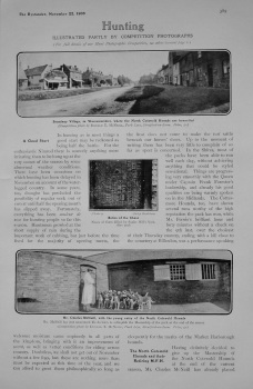 Hunting. (Illustrated Partly by Competition Photographs). 1905