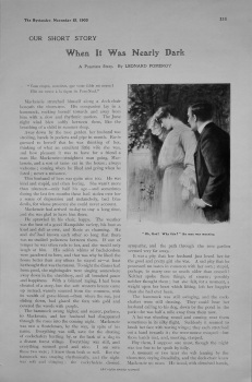 Our Short Story. (Weekly Story) 1905.