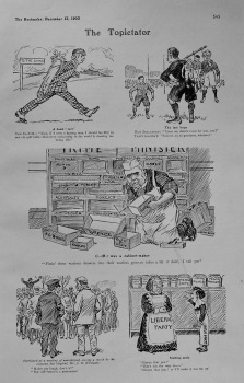 The Topictator. December 13th, 1905.