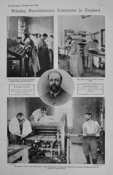 Printing Revolutionary Literature in England. 1905