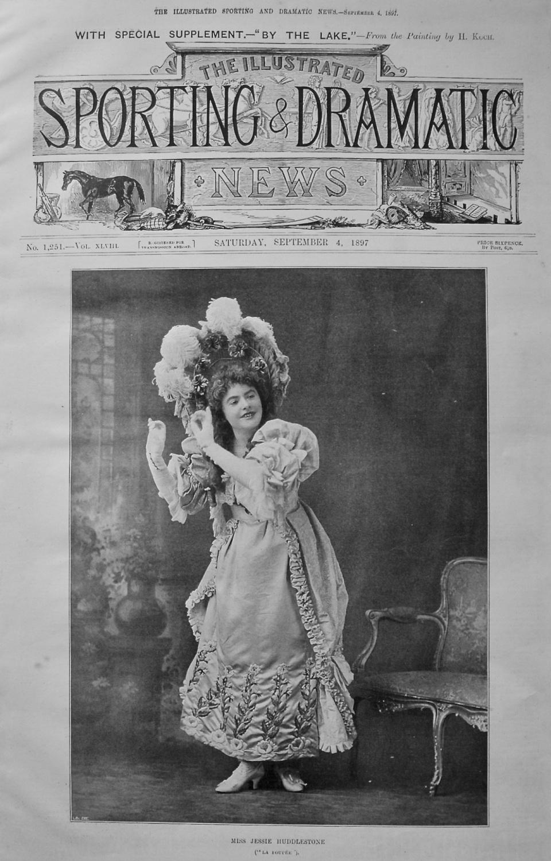 Miss Jessie Huddlestone. 1897.