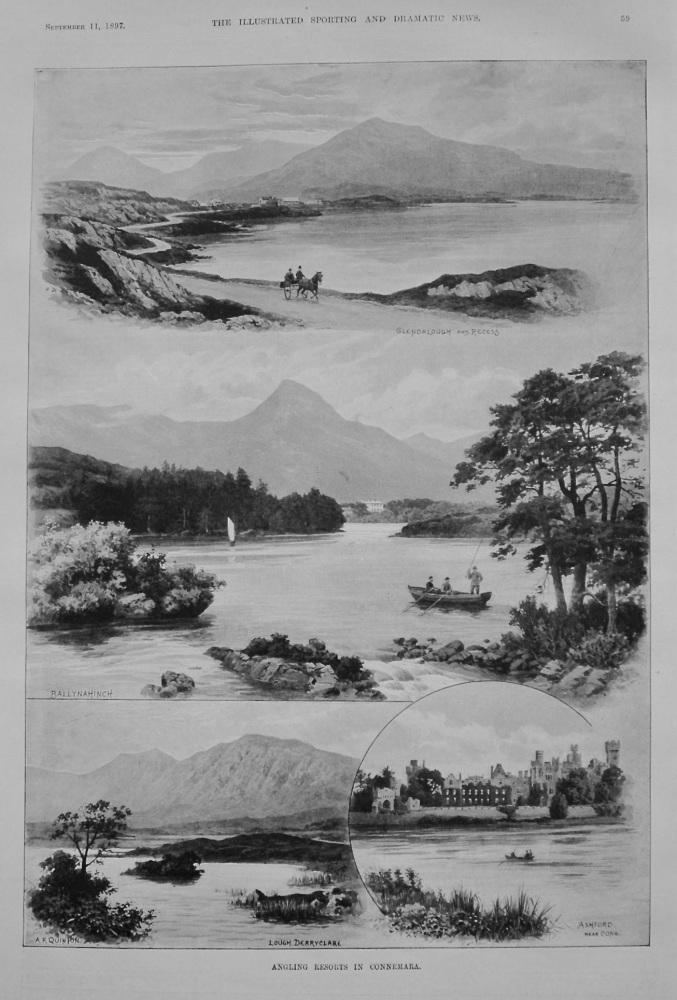 Angling Resorts in Connemara. 1897