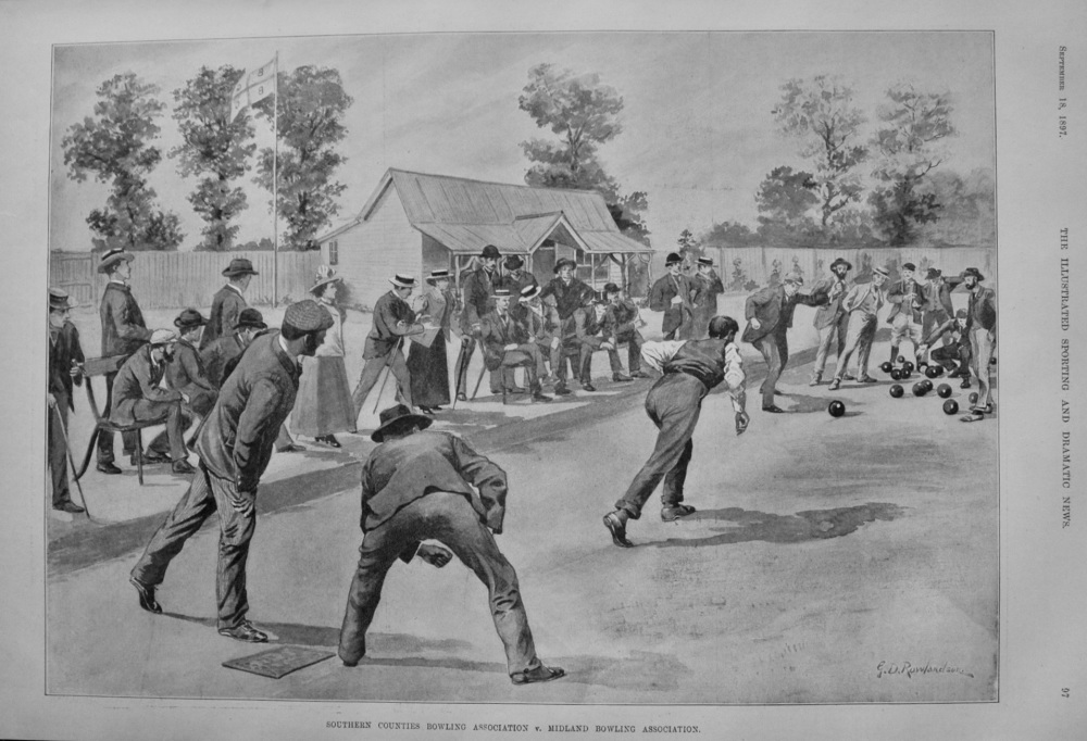 Southern Counties Bowling Association v. Midland Bowling Association. 1897