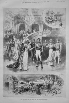 """In The Days of the Duke"" at the Adelphi Theatre. 1897"