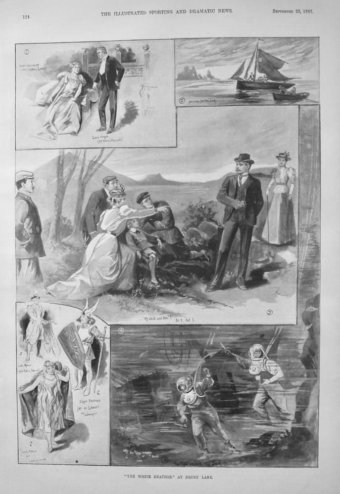 """The White Heather"" at Drury Lane. 1897"