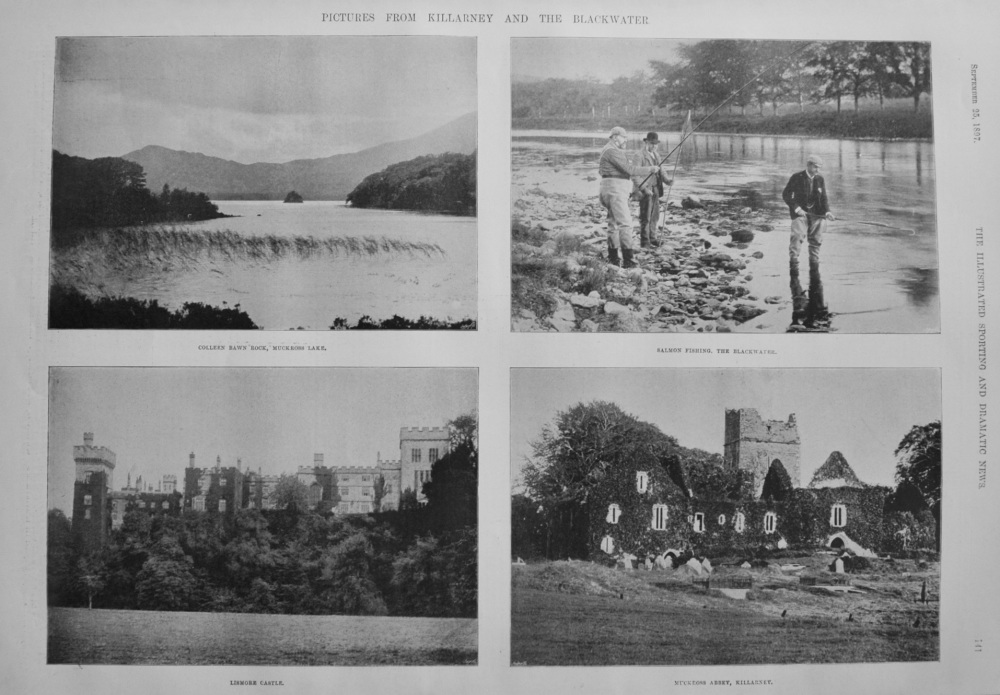 Pictures from Killarney and the Blackwater. 1897